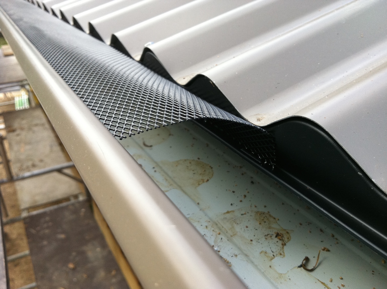 D I Y Gutter Screens Gutter Guards Leaf Guard